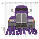 Trucker Marie Shower Curtain
