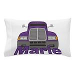 Trucker Marie Pillow Case