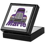 Trucker Marie Keepsake Box