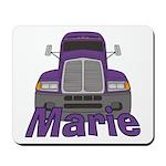 Trucker Marie Mousepad