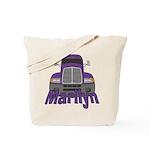 Trucker Marilyn Tote Bag