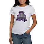 Trucker Marilyn Women's T-Shirt