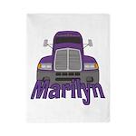 Trucker Marilyn Twin Duvet