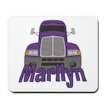 Trucker Marilyn Mousepad