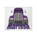 Trucker Marissa Throw Blanket