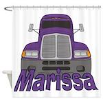 Trucker Marissa Shower Curtain