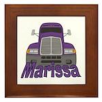 Trucker Marissa Framed Tile