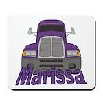 Trucker Marissa Mousepad