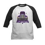 Trucker Marjorie Kids Baseball Jersey