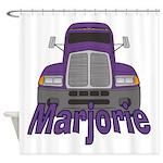 Trucker Marjorie Shower Curtain