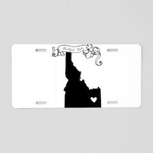Blackfoot Aluminum License Plate