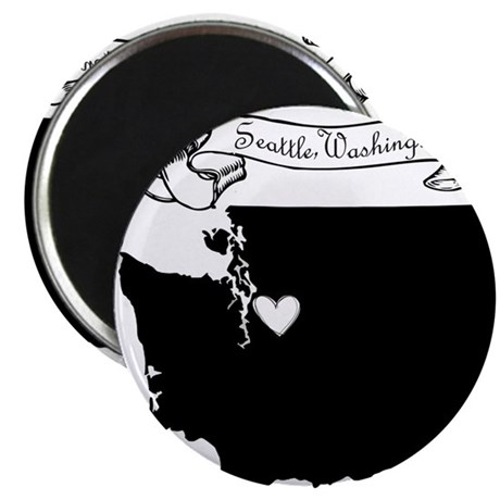 "Seattle.png 2.25"" Magnet (100 pack)"