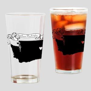 Spokane Drinking Glass