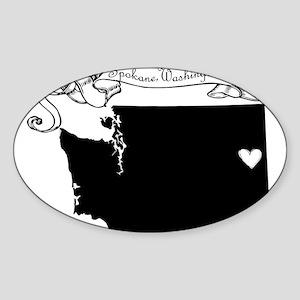 Spokane Sticker (Oval)