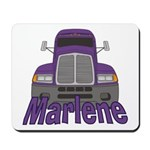 Trucker Marlene Mousepad
