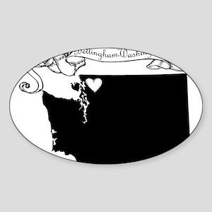 Bellingham Sticker (Oval)