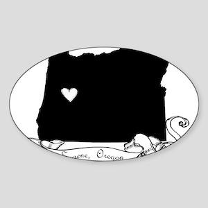 Eugene Sticker (Oval)