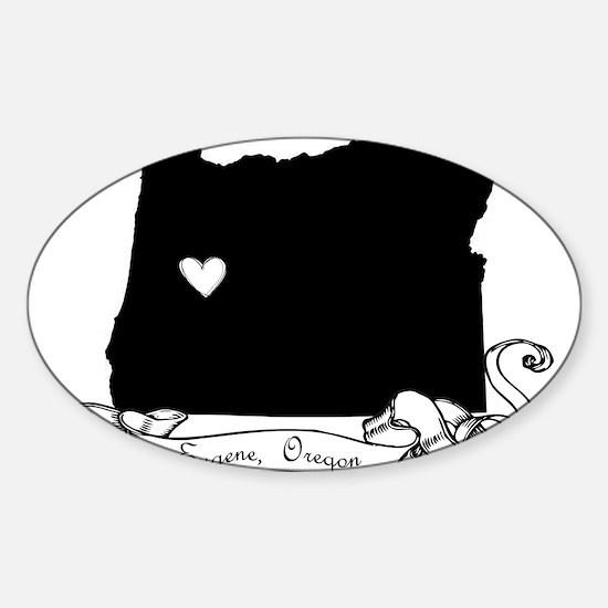 Eugene.png Sticker (Oval)