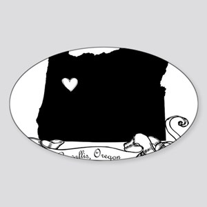 Corvallis Sticker (Oval)