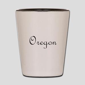 Oregon Shot Glass
