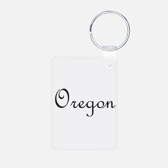 Oregon.png Aluminum Photo Keychain