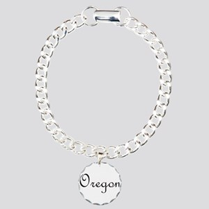 Oregon Charm Bracelet, One Charm
