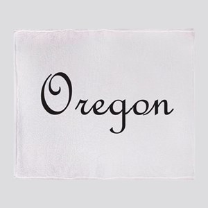 Oregon Throw Blanket