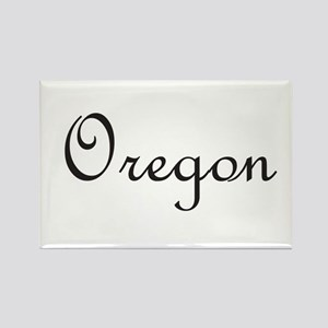 Oregon Rectangle Magnet