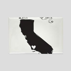 Santa Barbara Rectangle Magnet