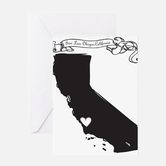 San Luis Obispo.png Greeting Card