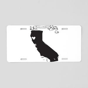 Mendocino Aluminum License Plate