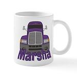 Trucker Marsha Mug