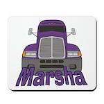 Trucker Marsha Mousepad
