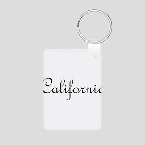 California Aluminum Photo Keychain
