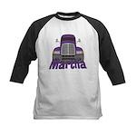 Trucker Martha Kids Baseball Jersey