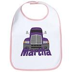 Trucker Martha Bib