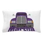 Trucker Martha Pillow Case
