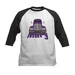 Trucker Mary Kids Baseball Jersey