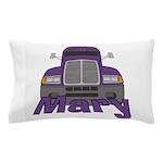 Trucker Mary Pillow Case
