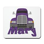 Trucker Mary Mousepad