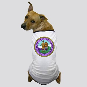 The Great Seal of the Chickasaw Nation Dog T-Shirt