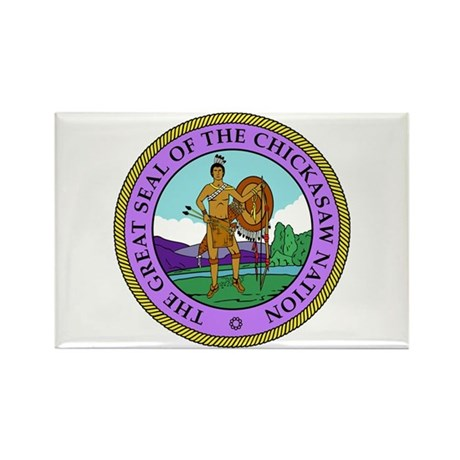 The Great Seal of the Chickasaw Nation Rectangle M