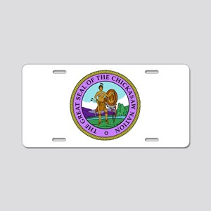 The Great Seal of the Chickasaw Nation Aluminum Li