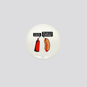 Meat Ketchup Mini Button