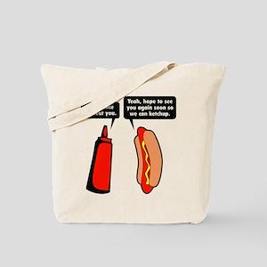 Meat Ketchup Tote Bag