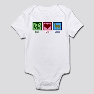 Peace Love Llamas Infant Bodysuit