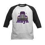 Trucker Maya Kids Baseball Jersey