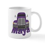 Trucker Maya Mug