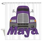 Trucker Maya Shower Curtain