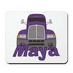 Trucker Maya Mousepad
